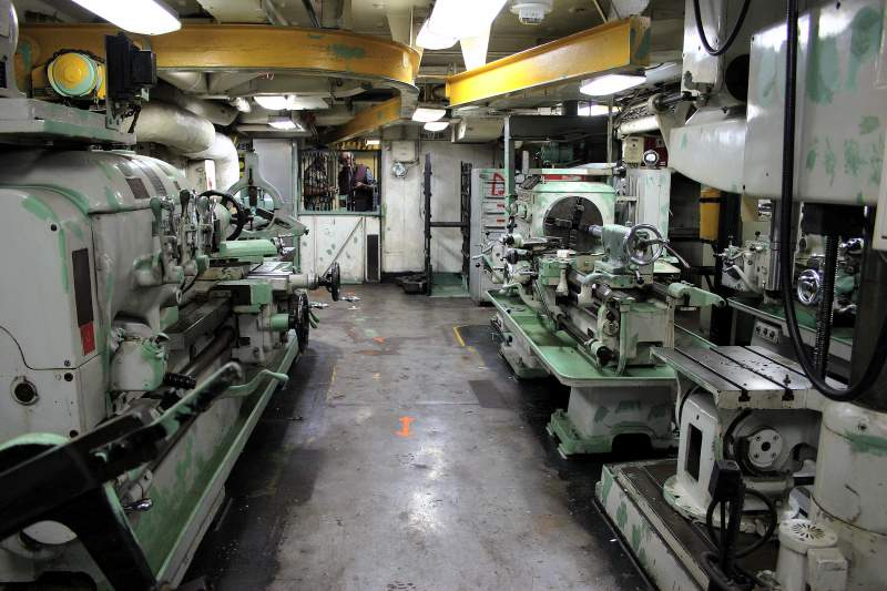 clinton machine shop