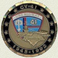 USS Midway, CV-41 1945 ~ 1992