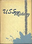 USS Midway 1952 Cruise Book