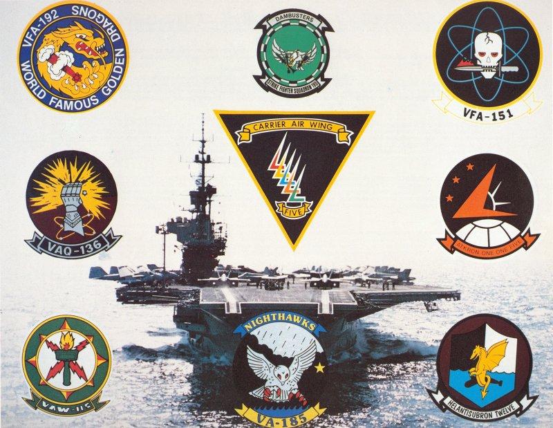 Carrier Air Wing Five Memorabilia