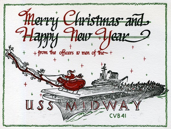 USS Midway ~ Seasons Greetings