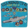 USS Midway Patches