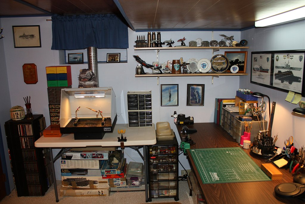 Workbench Amp Hobby Room